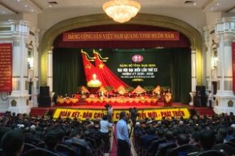 Khai mạc trọng thể Đại hội đại biểu Đảng bộ tỉnh Nam Định lần thứ XX ( Nhiệm kỳ 2020-2025)